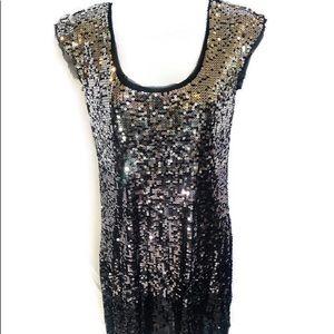 EUC White House/Black Market sequin party dress